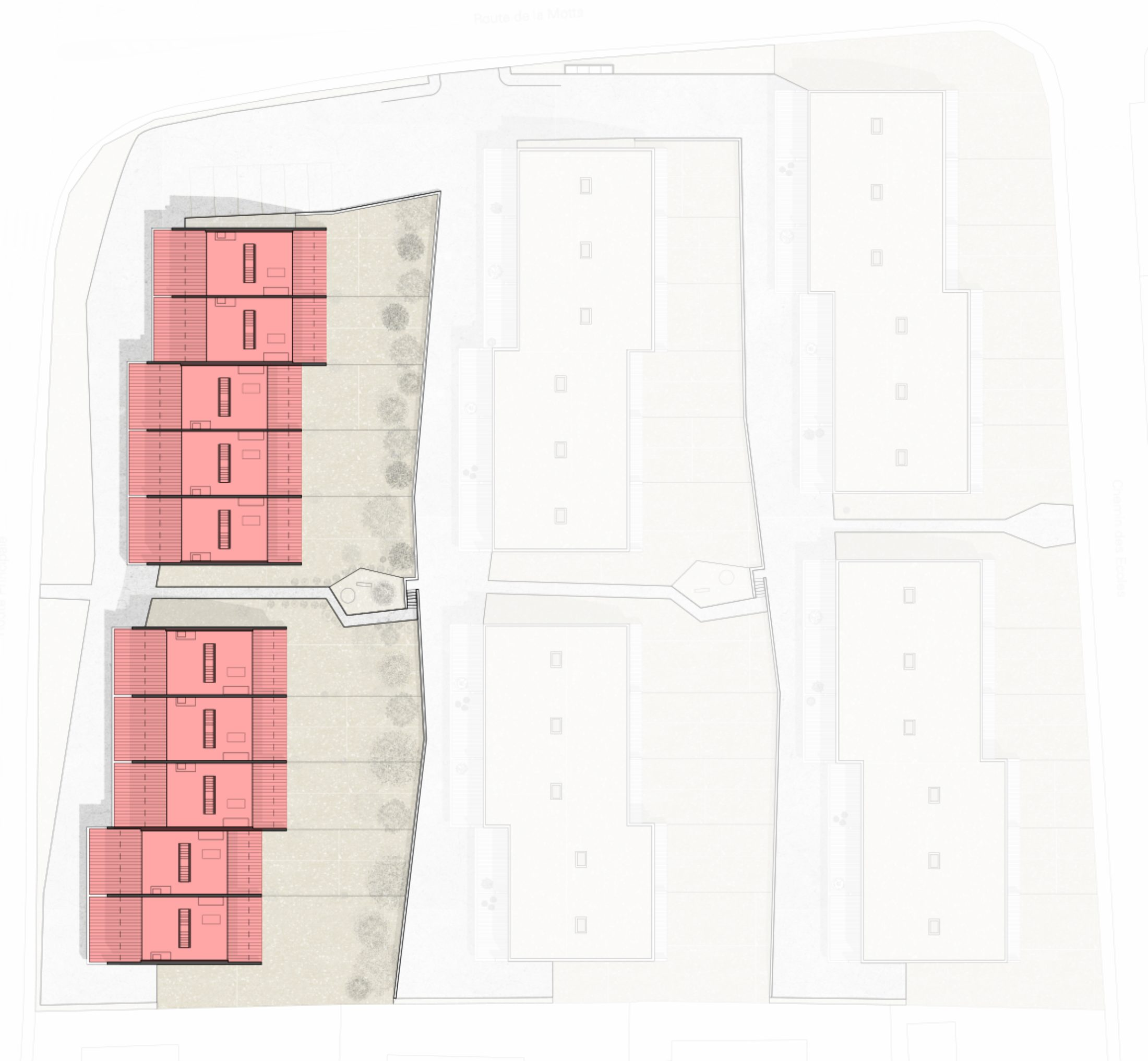 Plan villas ab42389